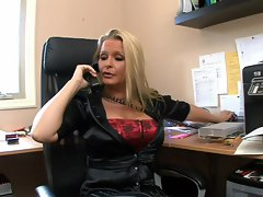 Maya Divine is a MILF boss on the hunt for cock