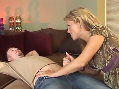 Mature slut Kayla Synz gets her shaven snatch rammed by huge stud