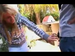 Holly Wellin gets her asshole split in two