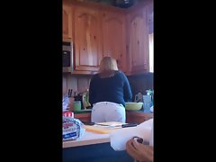 My Mom in the Kitchen