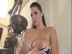Ginna Michaels is a pale ho that loves to see her big tits bounce