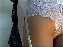 Pink Girdle Lace Knickers