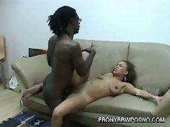 Ebony whore mone devine speared by monster black cock